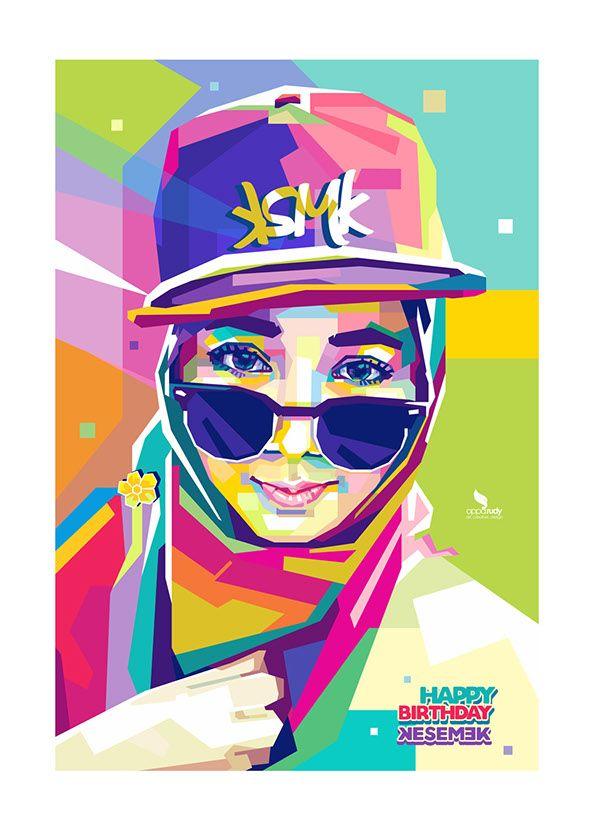A comission work of Wedha's Pop Art Portrait (WPAP)
