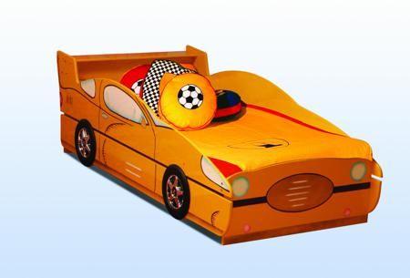 Кровать-машинка 806  — 18200р. --------------------------------- Детская кровать-трансформер в виде машины для детей от 3-х лет с дополнительным выдвижным спальным местом. Дизайн кровати выполнен в стиле спортивных суперкаров.