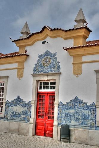 Sines Train Station by ~Luís~, via Flickr  Portugal