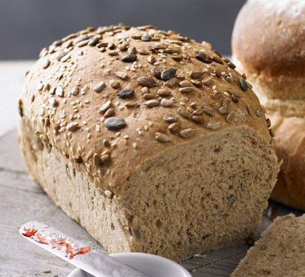 Brown loaf Try this simple step-by-step brown bread recipe to make a seeded loaf or try one of three gorgeous variations