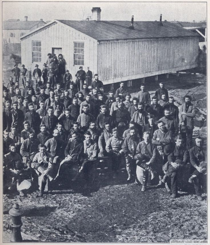 As bad as Andersonville was for the Union, the northern prisons were no better. Camp Douglas Confederate prisoners