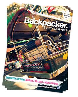 Latest issue of Southeast Asia Backpacker Magazine