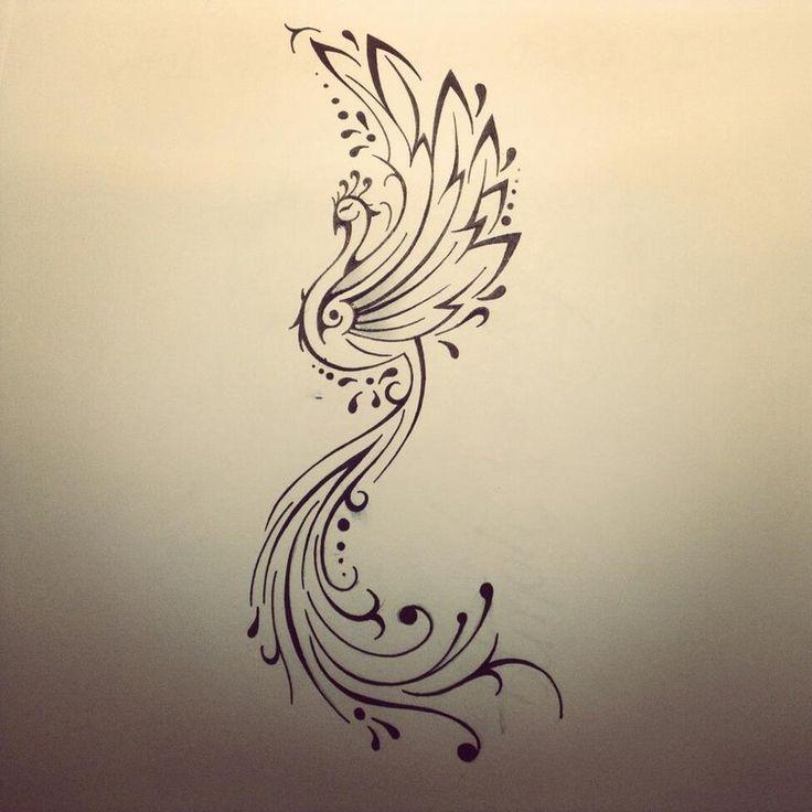 Phoenix tattoo by FingerPrint1404 on deviantART