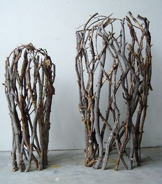 beautiful vessels from branches by Paul Schick