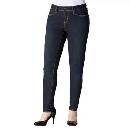 Signature by Levi Strauss & Co. Women's Curvy Skinny Jeans
