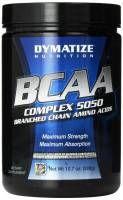 Dymatize Nutrition BCAA Complex 5050 to wysokiej jakości aminokwasy rozgałęzione w formie proszku. Wspierają one szybką regenerację i odbudowę mięśni. Forma proszku jest bardzo dobrze przyswajalna.