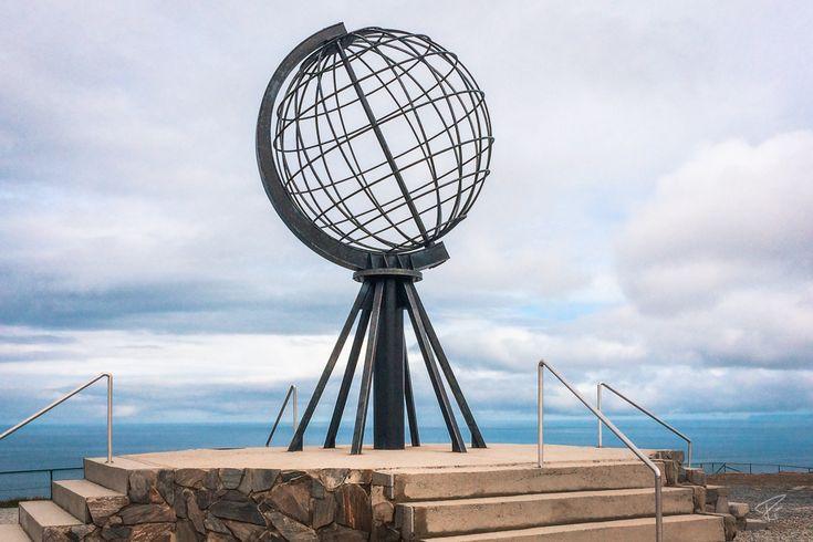 Norway Nordkap North Cape Globe