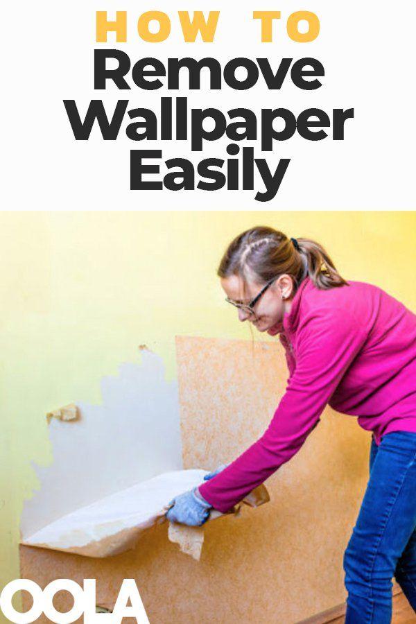 3 Tips On How To Remove Wallpaper Easily Baño de bronce