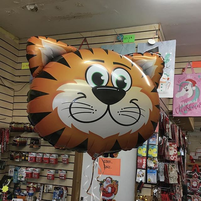 Here S A Supershape Tiger Helium Balloon Done For A Customer Yesterday Chelmsford Chelmsfordessex Essex Balloon Balloons Helium Balloons Balloons Helium