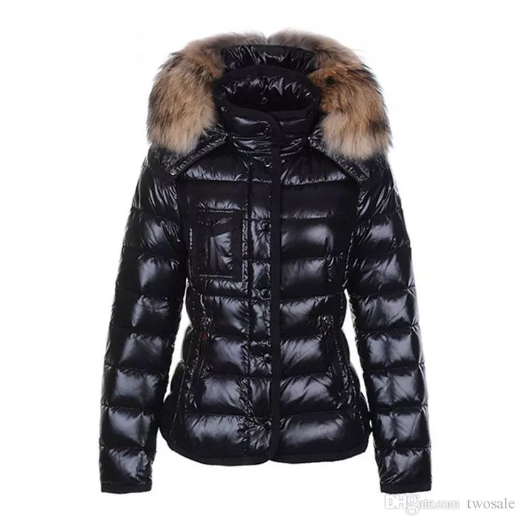 2017 Women Jacket White Duck Down Winter Coat Hooded Thick Fur Collar Down  Parkas Slim Jackets Outwear Hat Zipper Coats