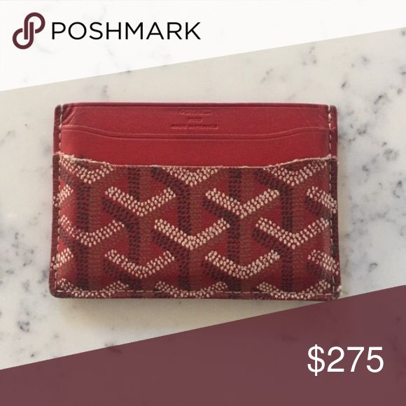 Goyard Cardholder Authentic goyard card holder that is used only several times Goyard Accessories Key & Card Holders