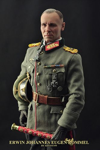 a description of field marshal erwin rommel as one of germans greatest soldiers The greatest contributor to the feeling of tension and  a psychological weapon — and only short-sighted soldiers,  — field marshal erwin rommel,.