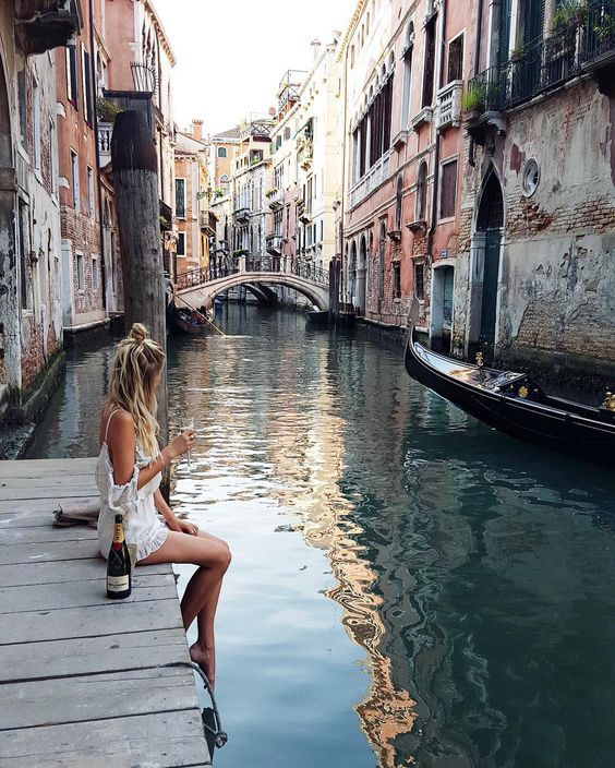 Gorgeous. I would love to sit there with a glass of wine. But I would never intentionally put my foot in that water. Ewww! It's nasty.