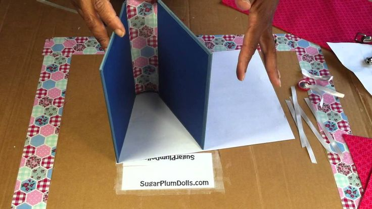 how to make a book purse without sewing