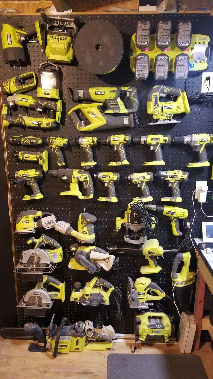 Ryobi tool collection
