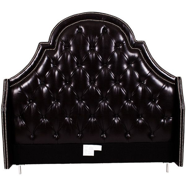 iconic home black alexander king headboard 600 liked on polyvore featuring home - Hausgemachte Kopfteile Fr Kinder