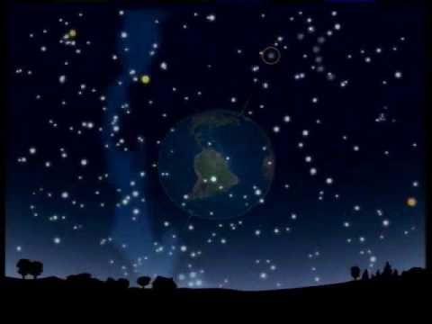 El cielo de noche: Las constelaciones - YouTube