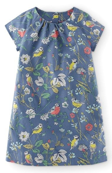 Mini Boden 'Fun' Print Dress (Toddler Girls) available at #Nordstrom
