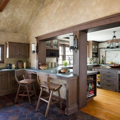 26 best kitchen passthrough ideas images on pinterest half walls half wall kitchen and home ideas for Pass through kitchen ideas