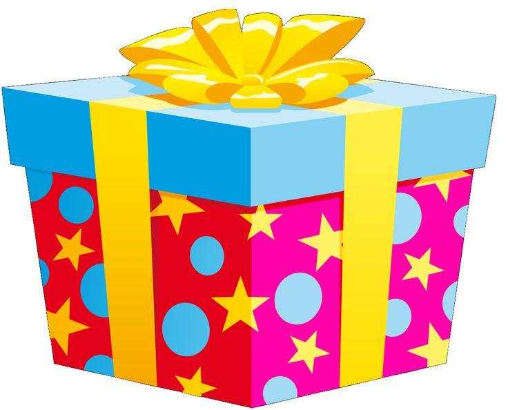 Resultado de imagen para cajas de regalos de cumpleaños con globos png