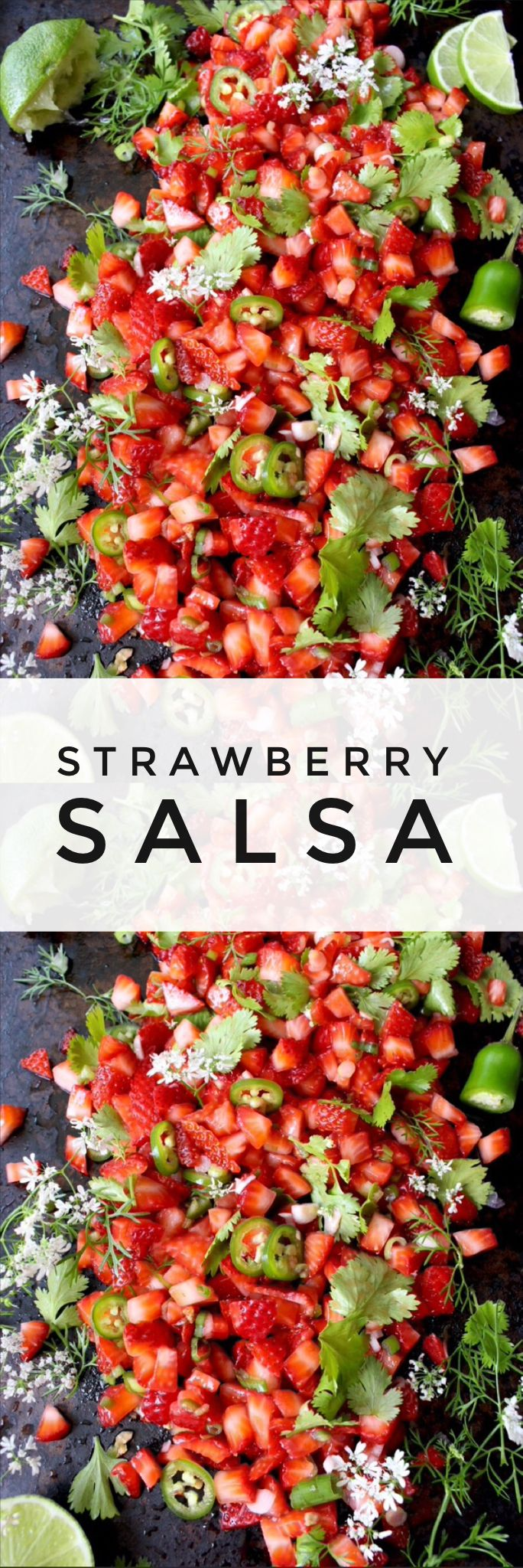 Strawberry Salsa Recipe | CiaoFlorentina.com @CiaoFlorentina