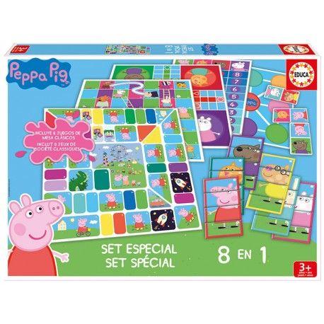 SET ESPECIAL 8 EN 1 PEPPA PIG