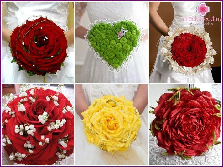 Rodzaje Bukietow Slubnych Dla Panny Mlodej Wskazowki Dotyczace Wyboru Zdjecie Advice For Bride Wedding Bouquets Bride