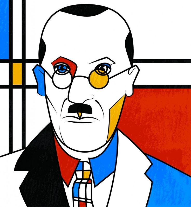 """by Piet Mondrian - Like other avant-garde movements of the time, De Stijl, which means simply """"the style"""" in Dutch, emerged largely in response to the horrors of World War I and the wish to remake society in its aftermath. Viewing art as a means of social and spiritual redemption, the members of De Stijl embraced a utopian vision of art and its transformative potential."""