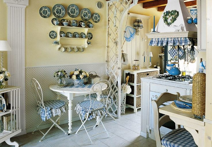 KUCHNIA W ANGIELSKIM STYLU: British Kitchens, Decor Ideas, Cornflower Kitchens, Blue Kitchens