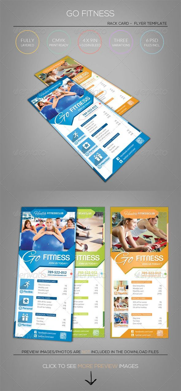 10 best images about Rack Cards – Rack Card Template