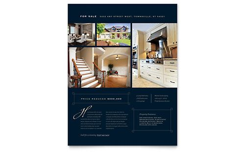 real estate flyer ideas | Urban Real Estate | Brochures & Flyers | Template Designs