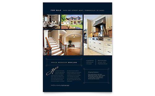 real estate flyer ideas | Urban Real Estate | Brochures & Flyers | Template Designs