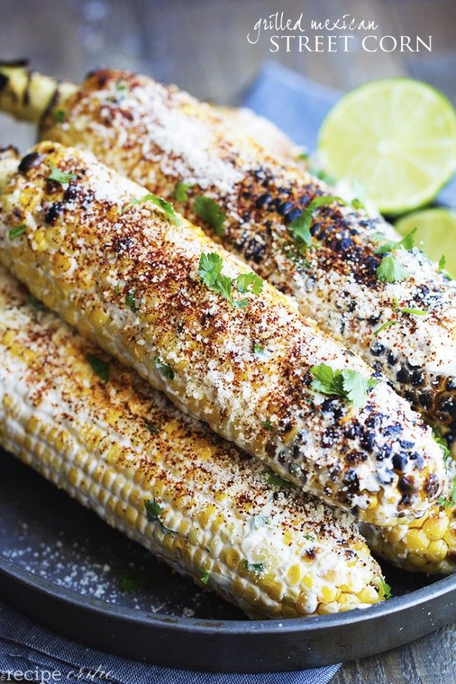 This corn gets grilled and slathered with an amazing mayonnaise blend and topped with parmesan cheese and chili powder. This is one of the best corn recipes you will eat! Grilling season is in full force over here at our house. We love to grill! One of our favorite sides to grill is corn. My …