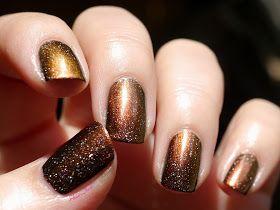 Shani's Nails: L'éruption solaire / piCture pOlish: ☆ Solar Flare ☆