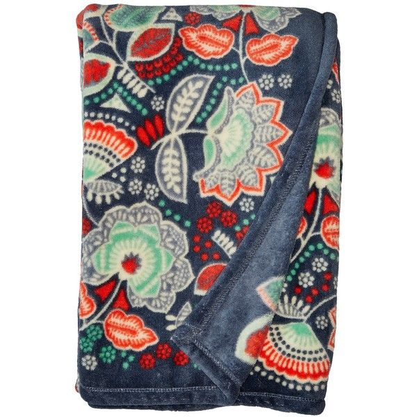 Vera Bradley Throw Blanket (Nomadic Floral) Blankets ($49) ❤ liked on Polyvore featuring home, bed & bath, bedding, blankets, vera bradley, vera bradley bedding, floral bedding, flowered bedding and vera bradley blanket throw