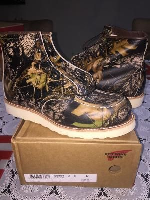 Red Wing 8884 - MOSSY OAK - CAMO - D8 - 41 - 26cm - SEP2016 - 2325643