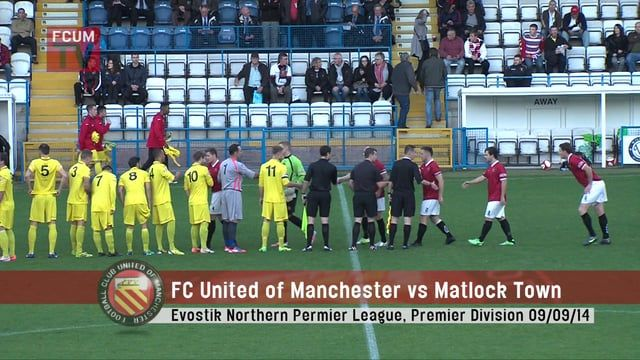 FC United of Manchester vs Matlock Town FC - 09-09-14 on Vimeo Do you prefer to make money blogging pertaining to your preferred little league team?? to read more, consider this particular useful post http://www.soccerfanspreneur.com/soccer-fans-are-getting-paid