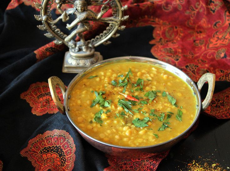 Indisches Chana Dal aus dem Slow Cooker