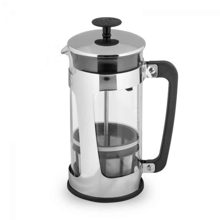 ESPRO® P5 Glass French Press | This french press makes smooth, grit-free coffee! Designed & assembled in #Canada!