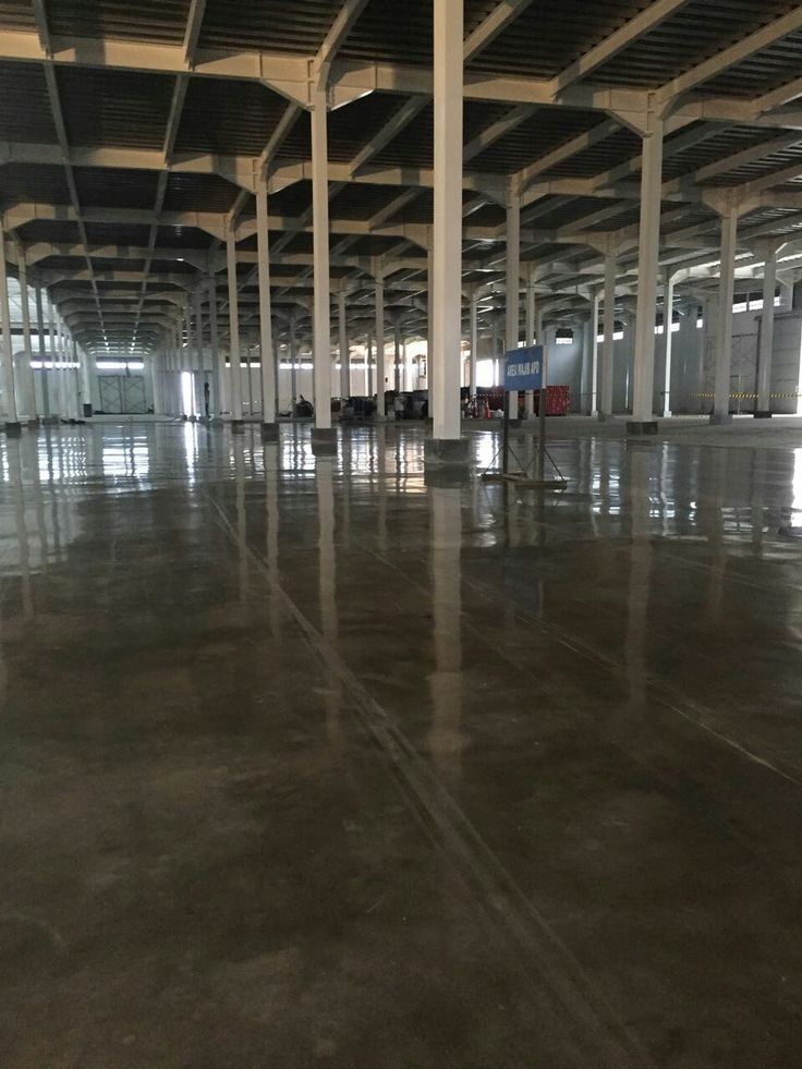 Smooth dust free...and Glossy . Teknoklinz Indonesia Polished Concrete Expert 0811812343
