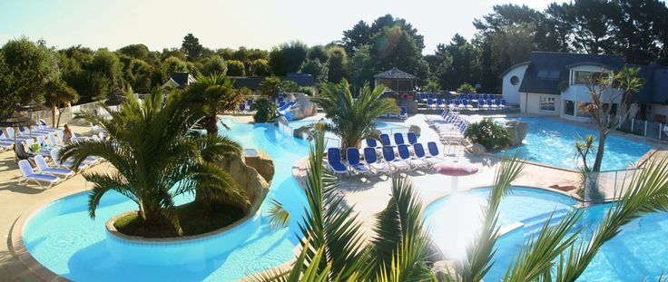 1000 id es sur le th me b che de piscine sur pinterest for Camping finistere nord avec piscine couverte