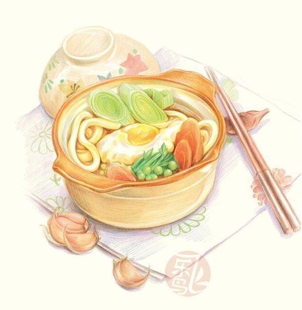 акварельные картинки для кулинарной книги смысл один