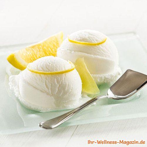 Low Carb Zitronensorbet-Eis selber machen - gesundes Eis ...