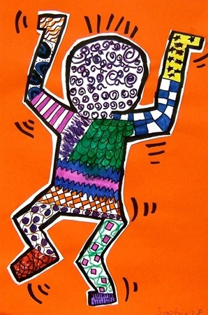 Keith Haring action figure