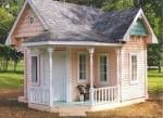 victorian style playhouse - free plans, drawings & instructions