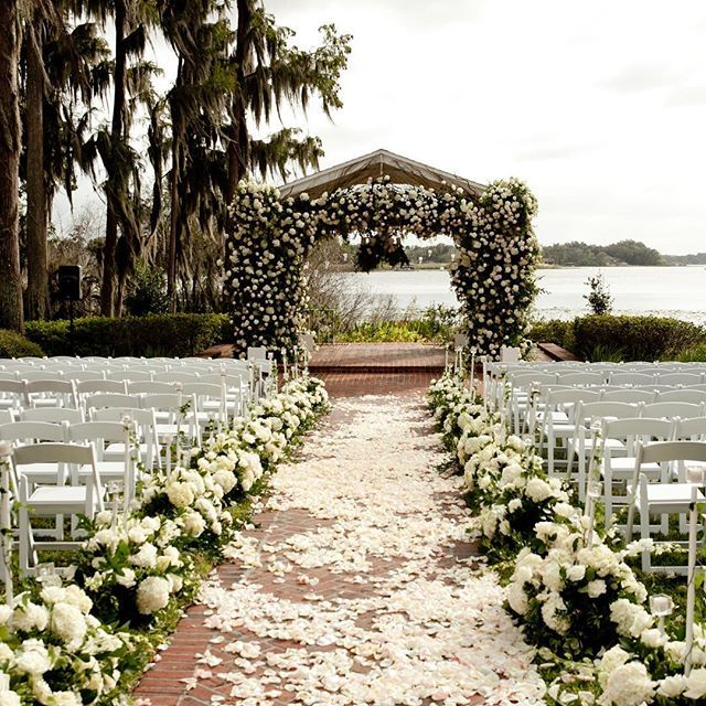 Outdoor Wedding Ceremony Orlando: Wedding Flowers, Wedding Venue Ideas