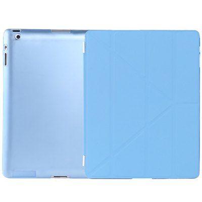 Llévalo por solo $36,900.Ultra Slim PU cuero dormir cubierta inteligente para iPad 2 / 3 / 4.