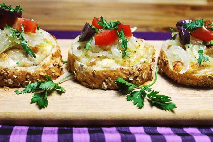 Bruschetta de bacalhau | Blog Figos & Funghis