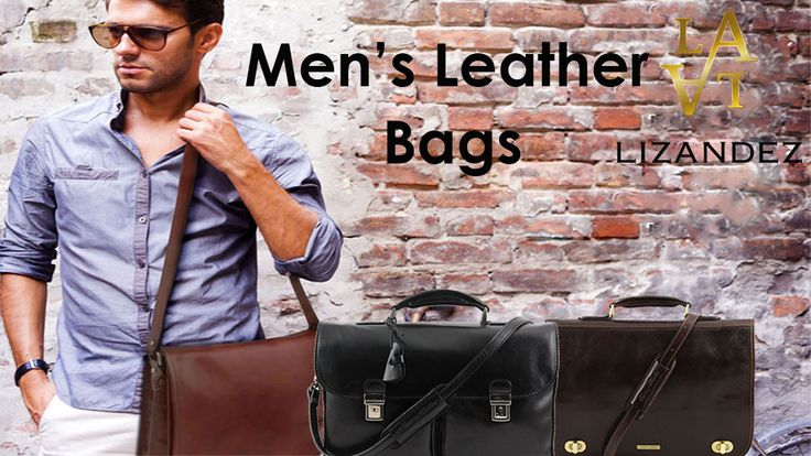 You will love our range of Mens Leather bags loaded with absolute class & style.