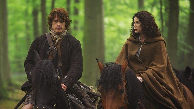 """The first clip of the mid-season finale of Outlander, """"Both Sides Now,"""" has arrived. The clip features Jamie Fraser (Sam Heughan) and Claire Fraser (Caitriona Balfe) and has Jamie trying to make Cl..."""